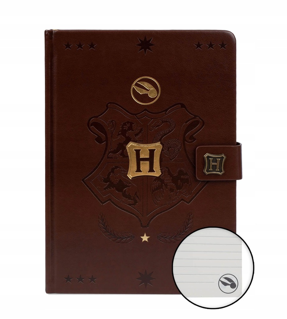 Harry Potter Quidditch Zeszyt Notes A5 120 kartek