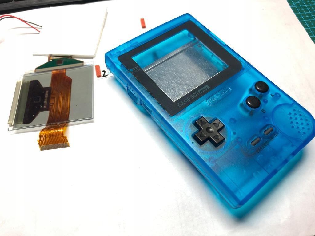 GameBoyPocket -obudowa, ekran, podświetlenie-opis!
