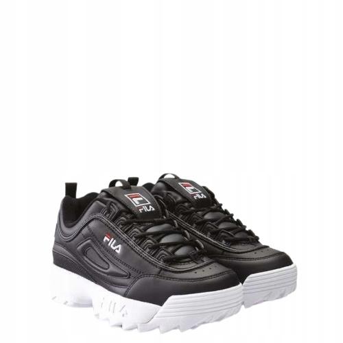 Sneakersy Buty Damskie Fila DISRUPTOR czarne 36