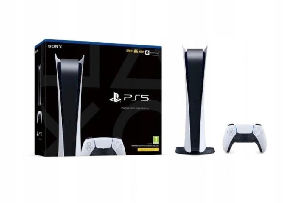 ps5 Playstation 5 digital nowa GWARANCJA
