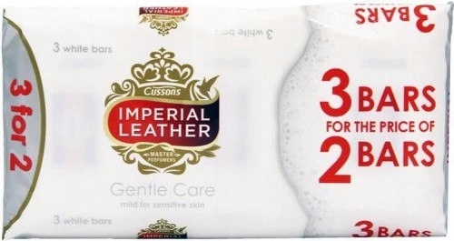 Imperial Leather Gentle Care kostka 3x100g