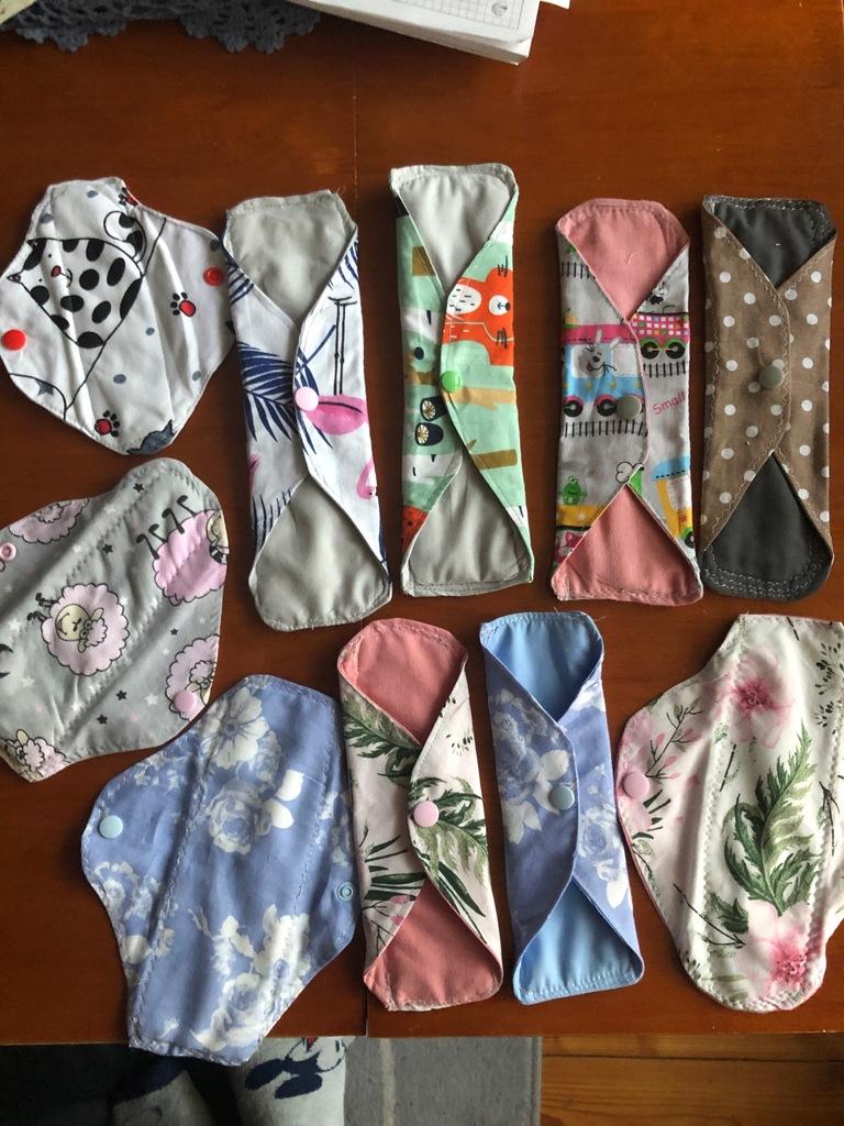 Podpaska podpaski wielorazowa wkładka Handmade EKO