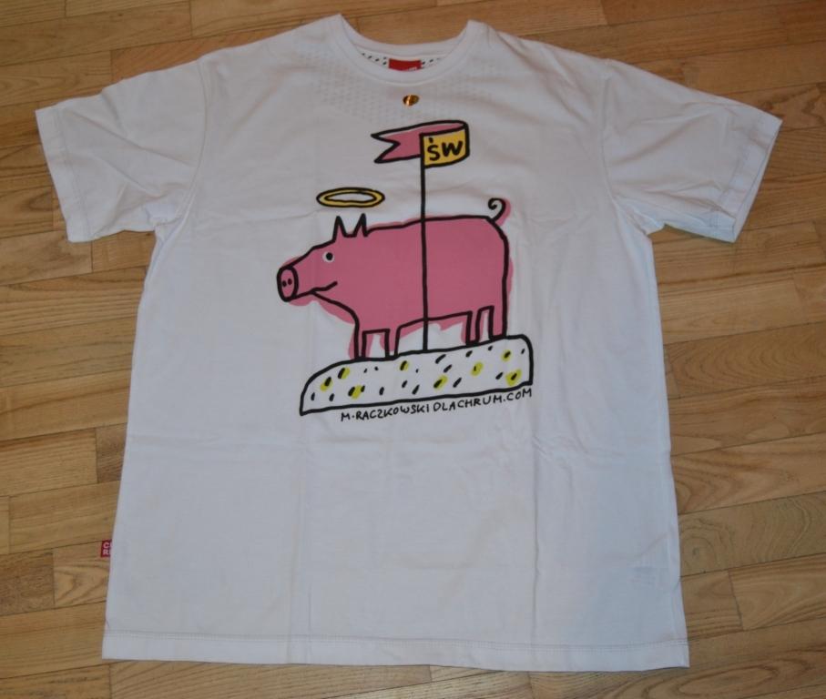 Koszulka T-shirt Chrum.com M. Raczkowski  XL Nowa