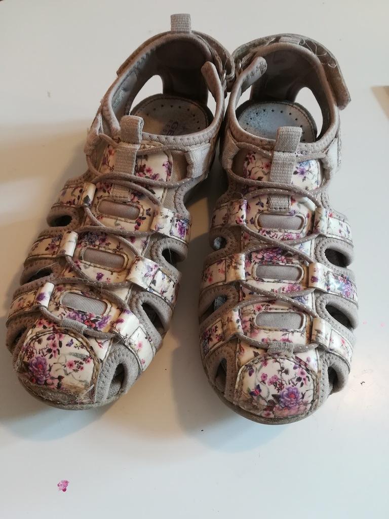 GEOX sandały trekkingowe dla dziewczynki