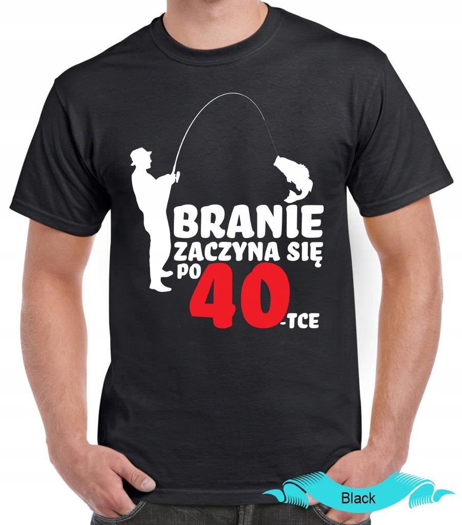 Koszulka T-shirt Branie zaczyna się po... rozm. XL