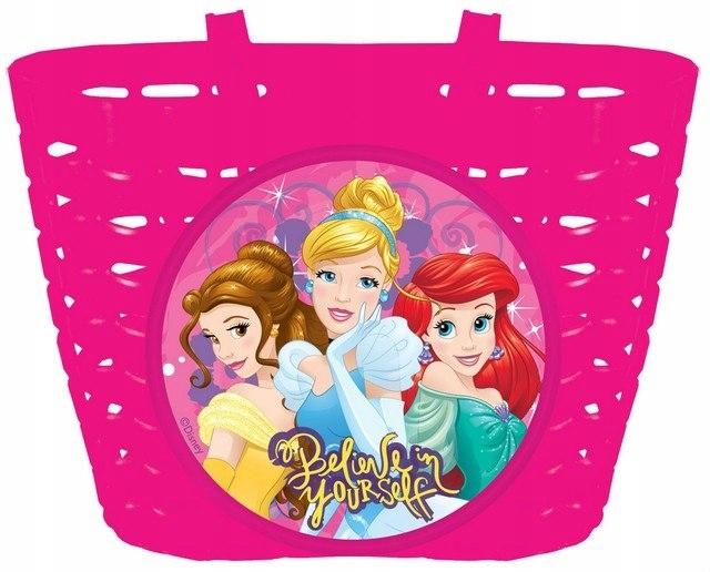 Koszyk Na Rower Princess Księżniczki Disney
