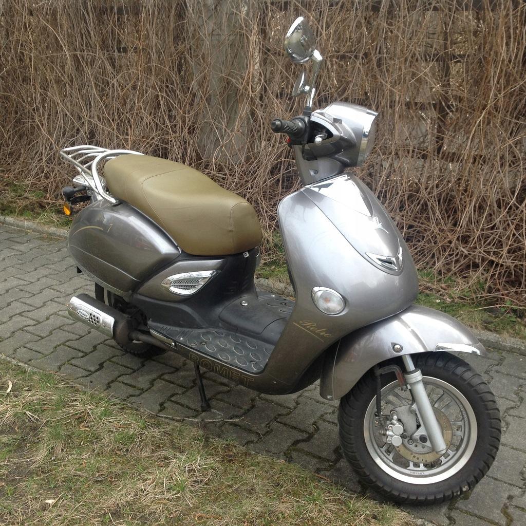 Skuter Motorower 50 Cm Romet Retro 7 8230489242 Oficjalne Archiwum Allegro