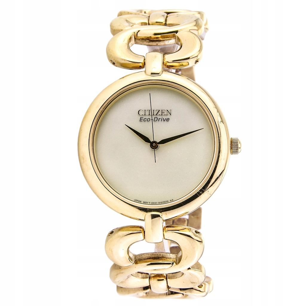 Zegarek CITIZEN EM0222-58P damski złoty