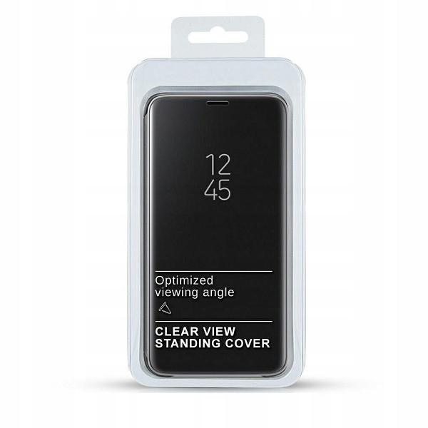 Etui Clear View Xiaomi Redmi 9C czarny /black