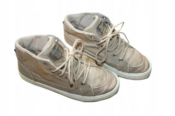 Zara 22,5cm cudne sneakersy, eko skóra 34/35