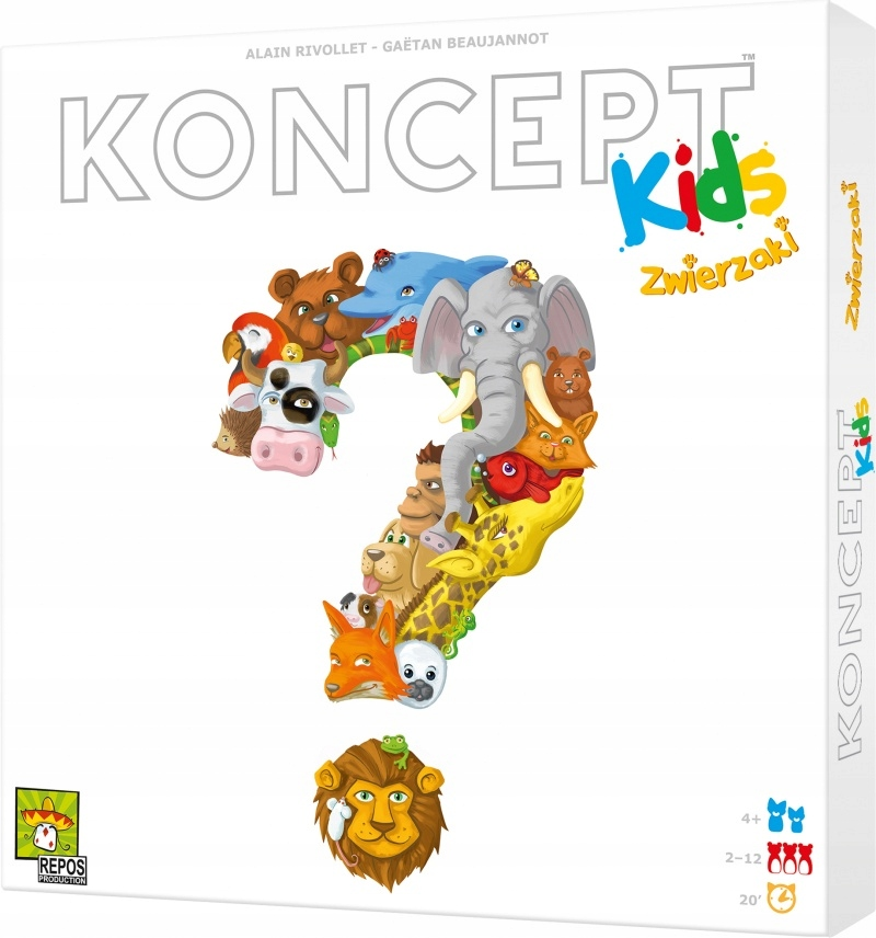 Koncept Kids. Zwierzaki. Rebel.