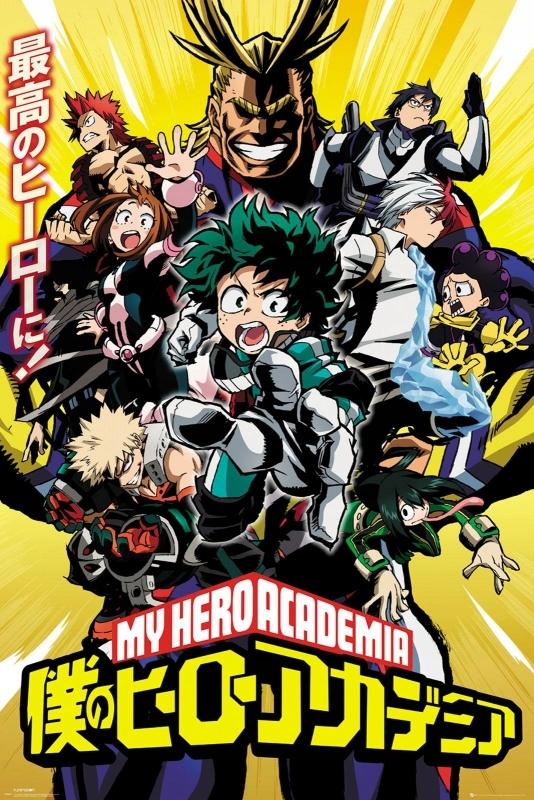 My Hero Academia - plakat 61x91,5