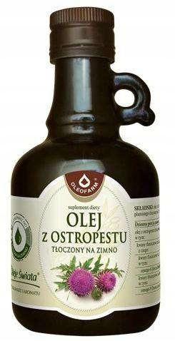 OLEOFARM Olej z ostropestu tłoczony na zimno250ml
