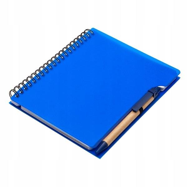 Notes 120x180/70k linia Curly, niebieski