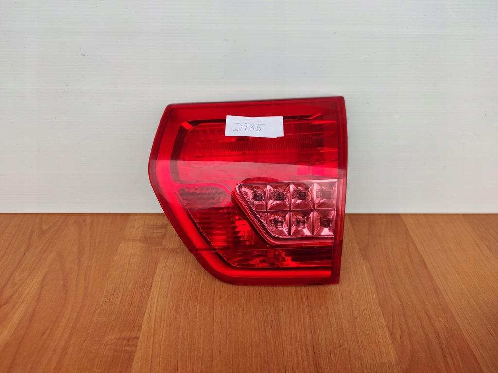 CITROEN C5 X7 III PRAWA LAMPA TYŁ WEWNĘTRZNA KLAPY