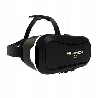 Wirtualna rzeczywistość, gogle, VR SHINECON czarne