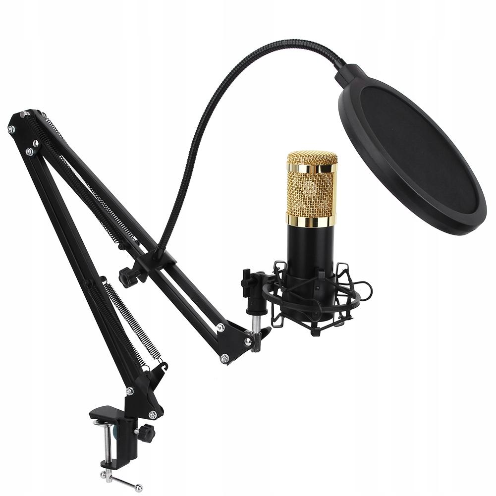 Mikrofon +ZESTAW pojemnościowy Black