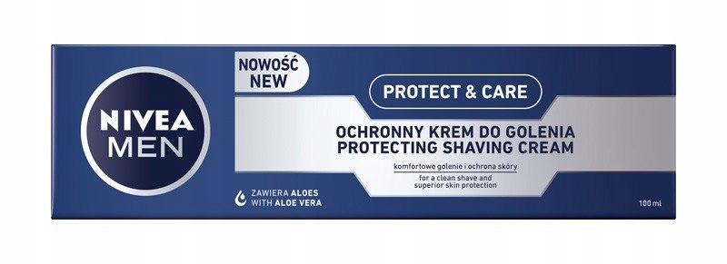 NIVEA FOR MEN Krem do golenia ochronny Protect