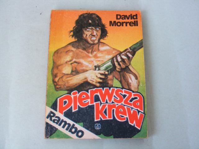 Pierwsza krew Rambo Morrell