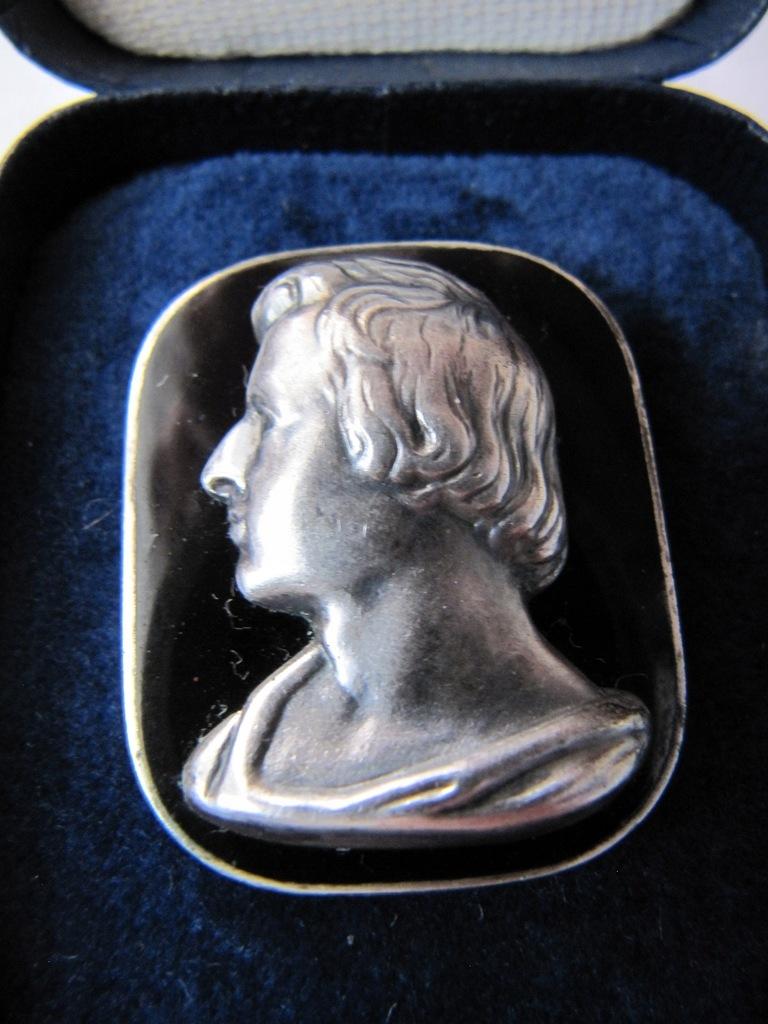 Fryderyk Chopin. Stary medalion, medal