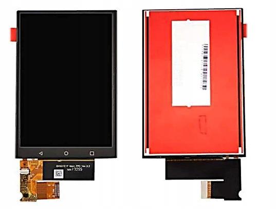 Ekran dotykowy LCD dla Blackberry Keyone czarny
