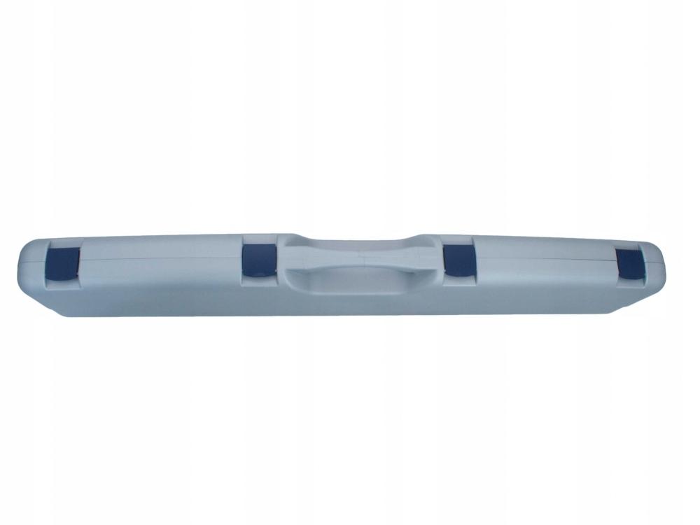 Kufer na bron Megaline szary 125x25x11 cm klamry