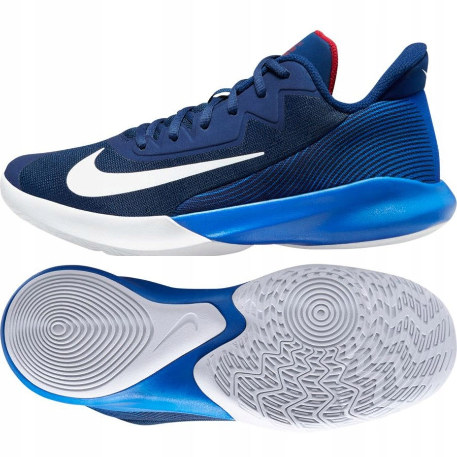 Buty Nike Precision IV CK1069 400 47 niebieski!