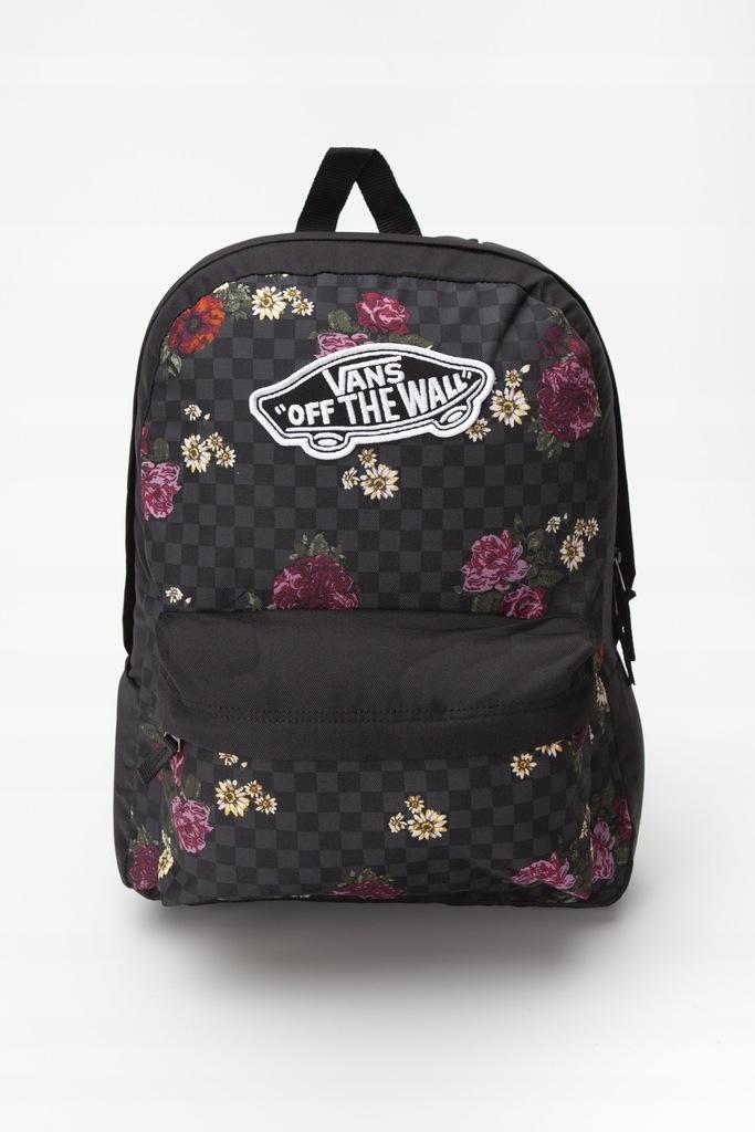 Plecak Vans REALM BACKPACK VN0A3UI6UWX1 w kwiaty