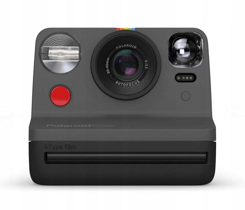 Aparat natychmiastowy Polaroid Now Czarny