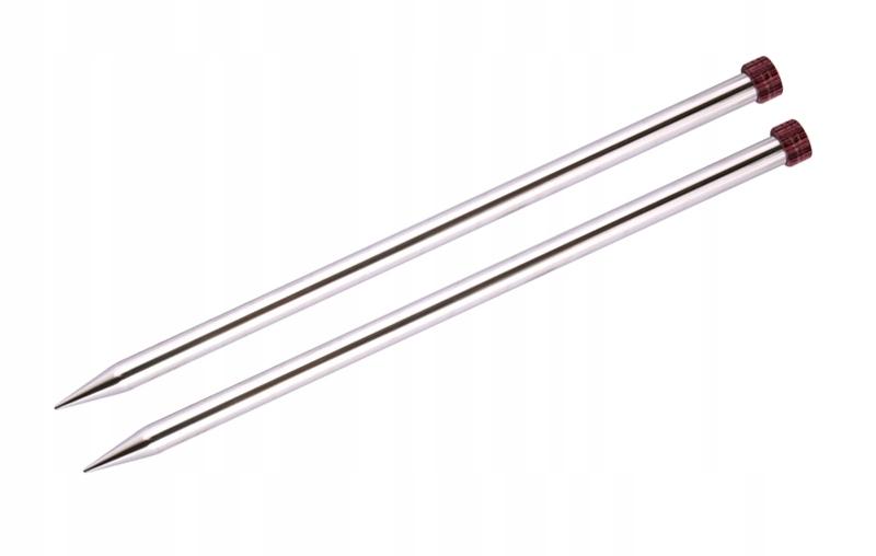 Druty NOVA lekkie metalowe proste 30cm/4mm