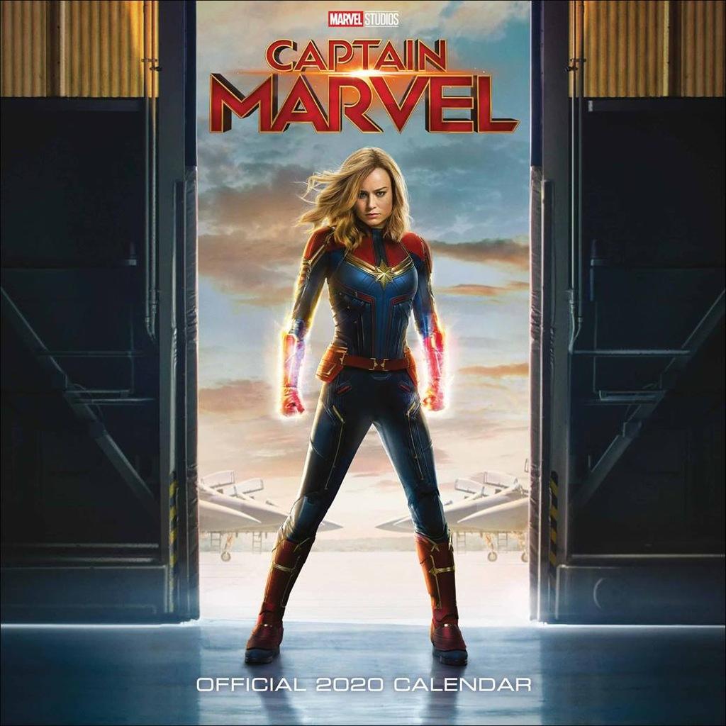 Kapitan Marvel - Oficjalny Kalendarz 2020 rok