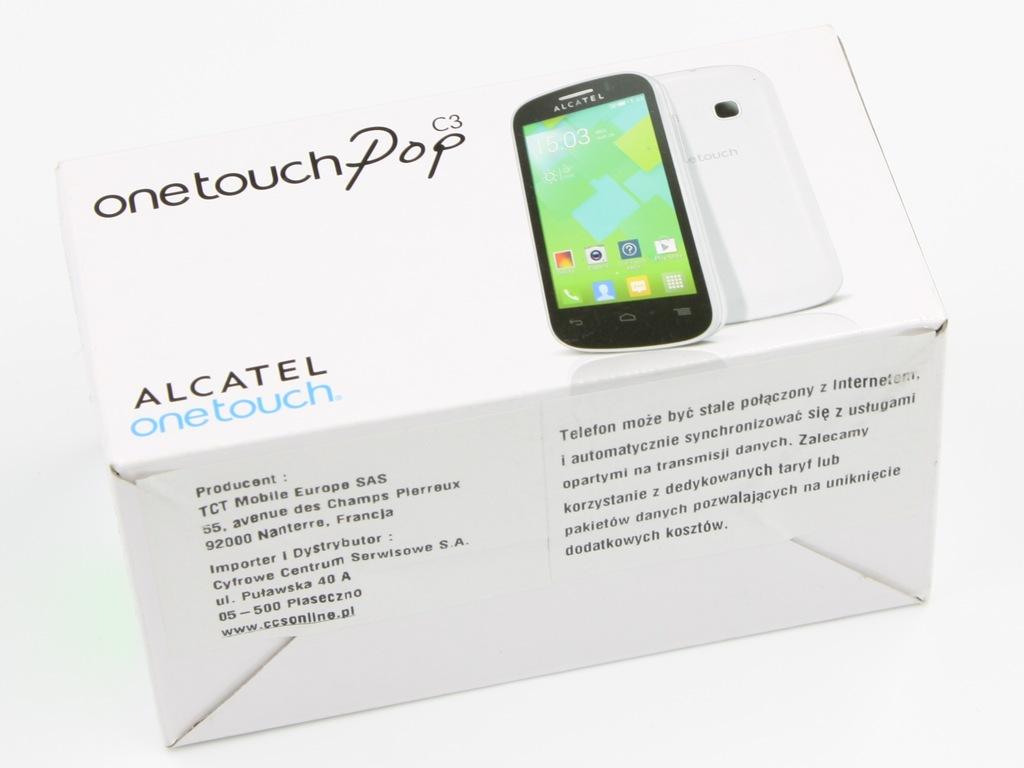 Alcatel Onetouch Pop C3 4033x Czerwony Single Sim 8866534453 Oficjalne Archiwum Allegro
