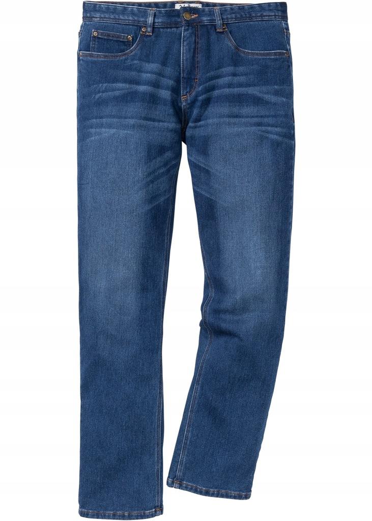 E301 Jeans Dżinsy termiczne Regular Fit 64
