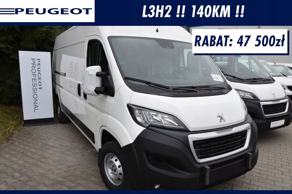Peugeot Boxer Pakiet Komfort + Pakiet Look !! Czuj