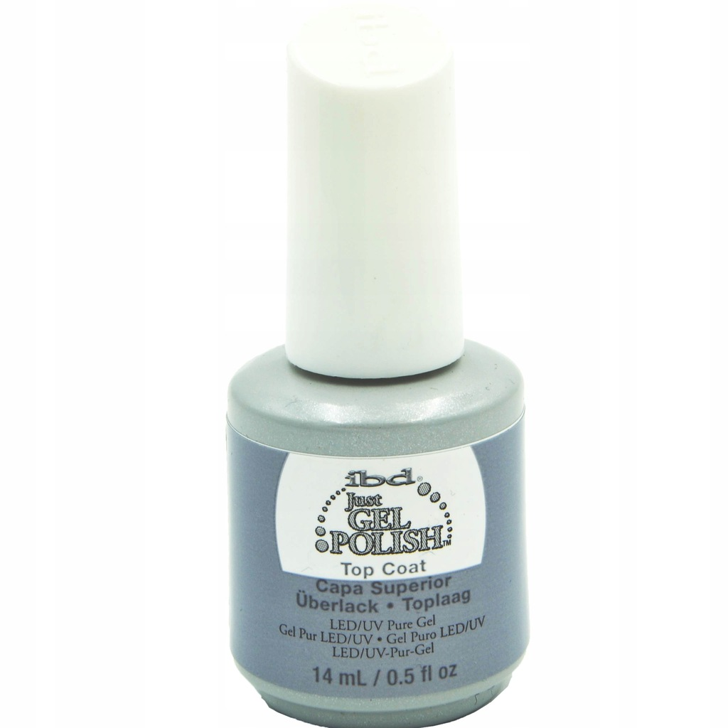 IBD Just Gel Polish Top Coat Nabłyszczający Top 14