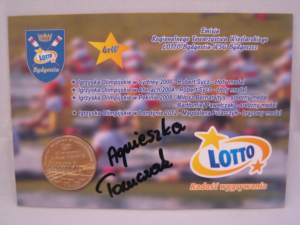 1 Dukat RTW Lotto BYDGOSTIA + Agnieszka Tomcczak