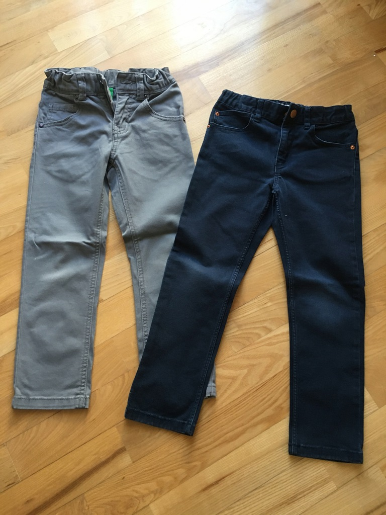 H&M Benetton spodnie 116 cm