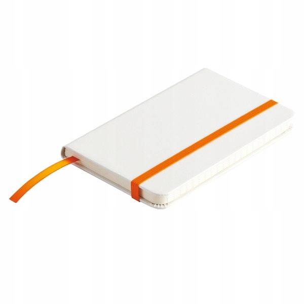 Notatnik Badalona 90x140/80k linia, pomarańczowy/b