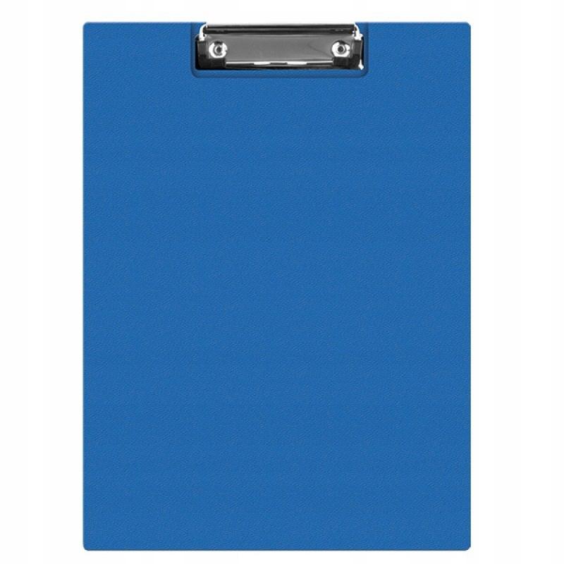 Clipboard teczka PVC A5 niebieski podkład z