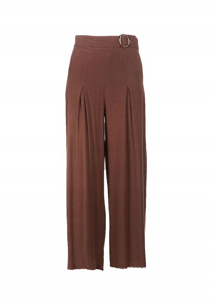 Brązowe Spodnie S