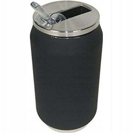 Yoko Design Isotherm Tin Can 280 ml, Soft touch bl