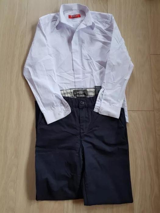 Elegancki komplet dla chłopca rozmiar 134
