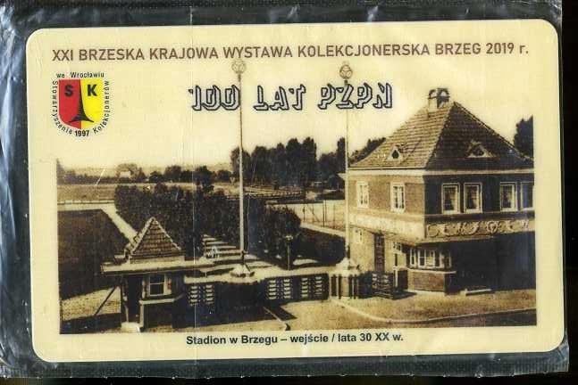 KARTA TELEFONICZNA - BRZEG WYSTAWA - NOWA 150 SZT