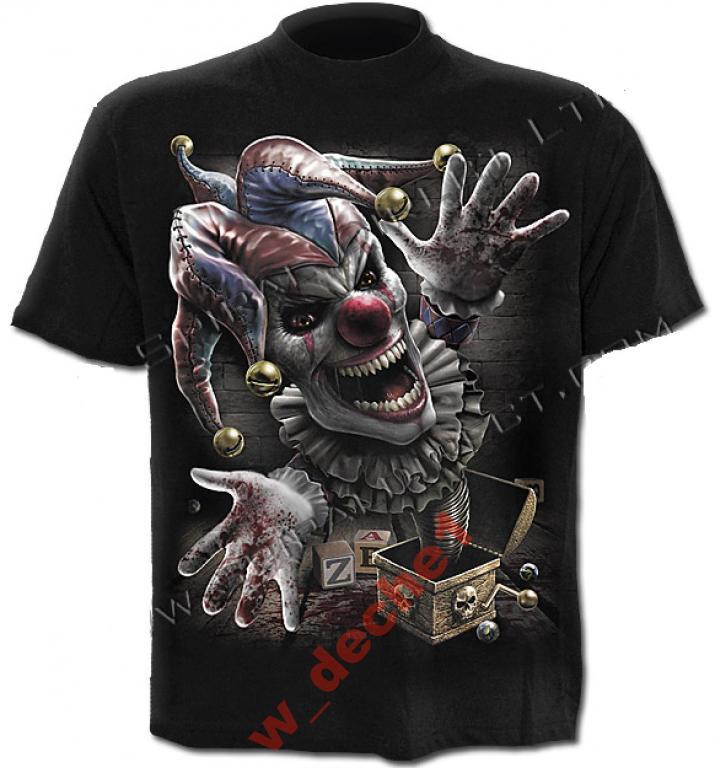 Koszulka KLAUN wzór nr 3 rozm. M firmy SPIRAL