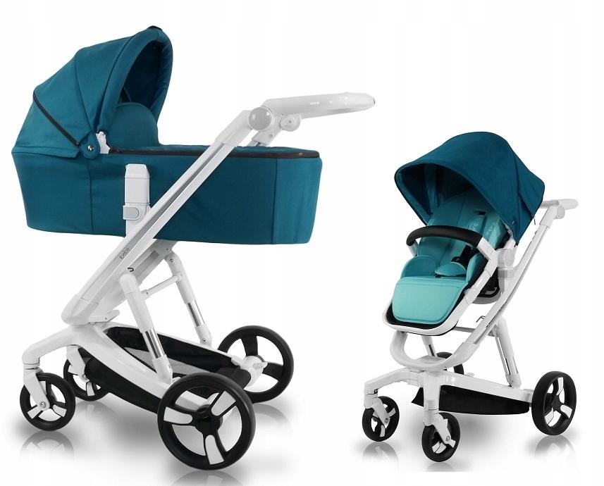 Wózek i-bebe i-stop Elektroniczny Syst. Hamowania!