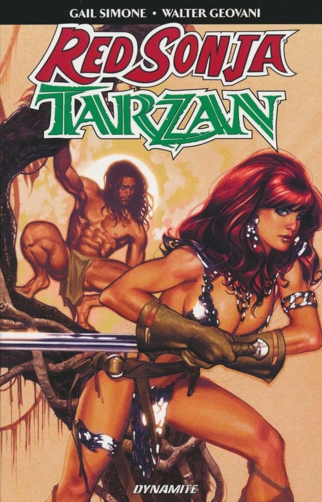 T4: RED SONJA TARZAN SC