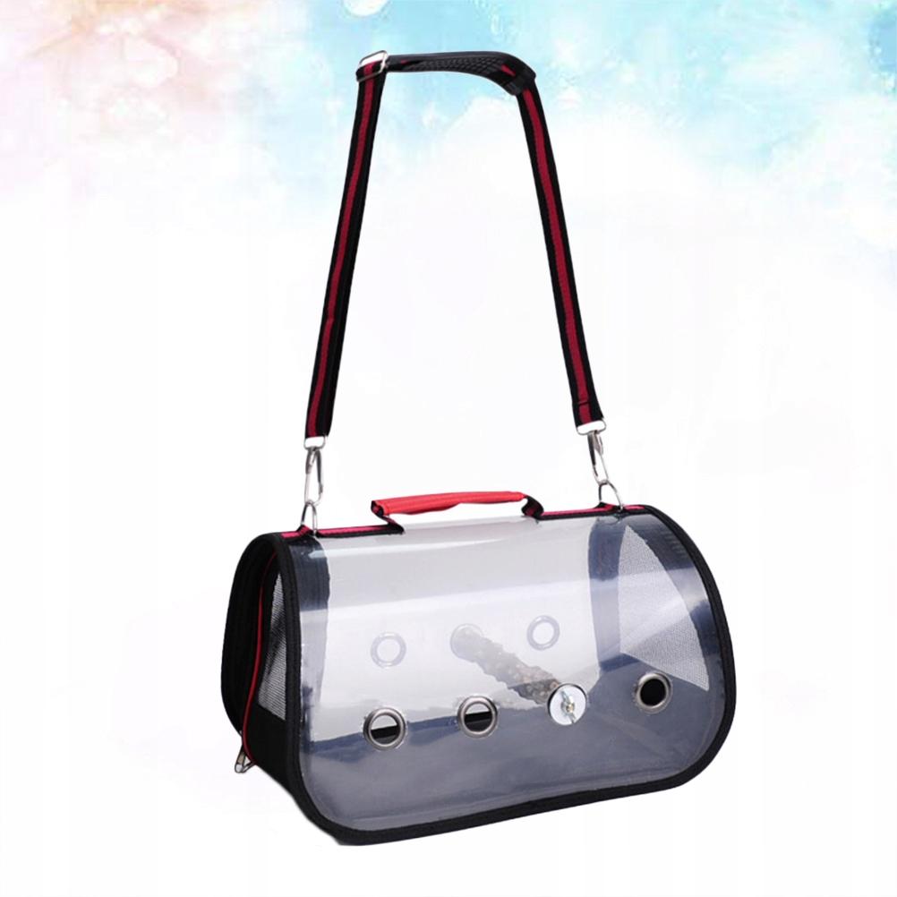 Breathable Parrot Transparent Bag Portable Pet Bir