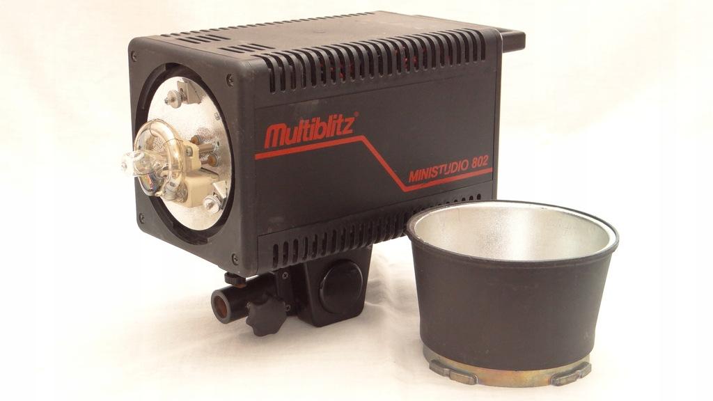 Multiblitz Ministudio 802 lampa studyjna 800 Ws