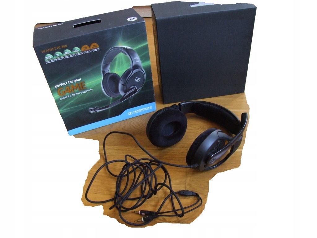 SENNHEISER HEADSET PC 360 G4ME @BOX@USZANOWANE@ #6