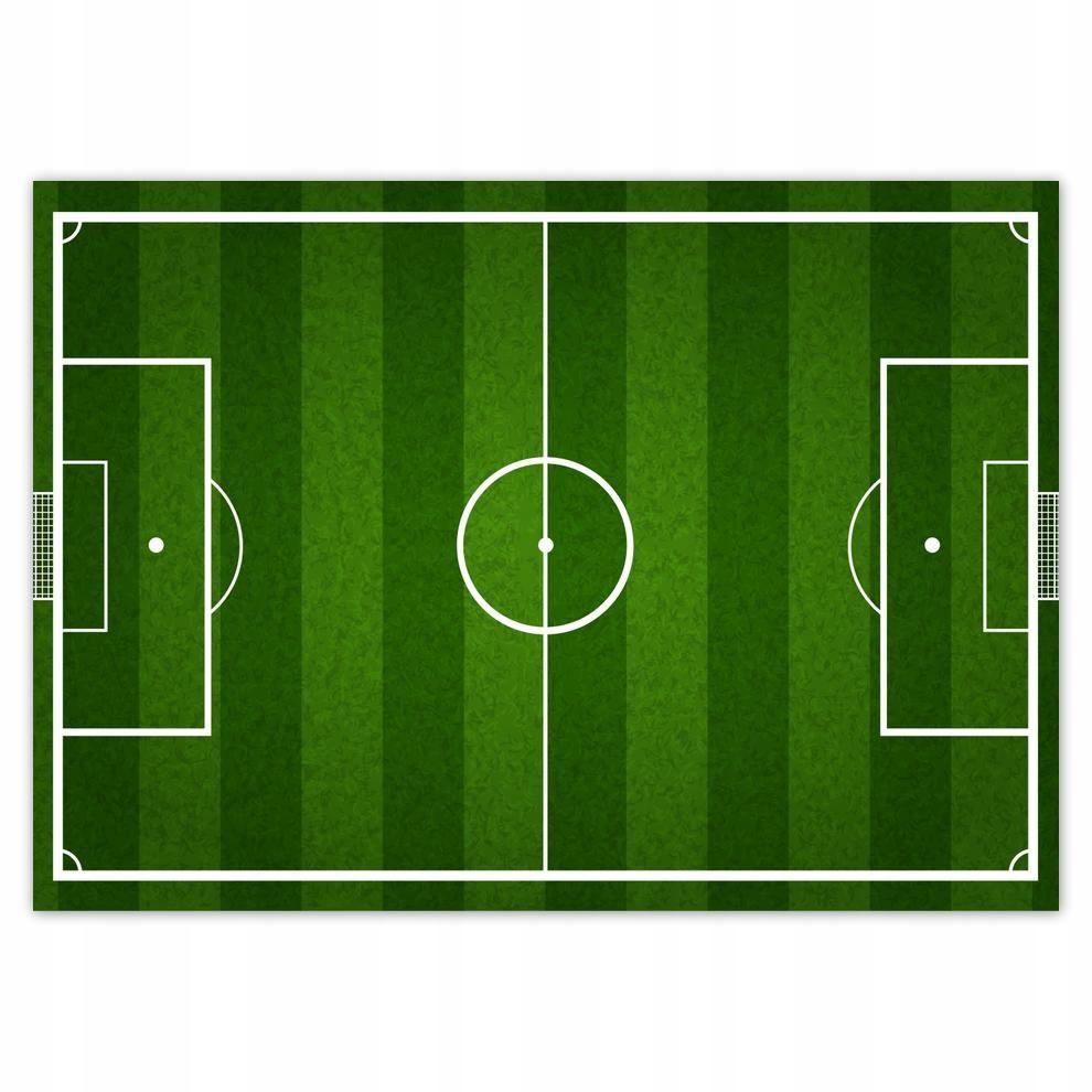 Plakat 70x50 Boisko piłkarskie kibica